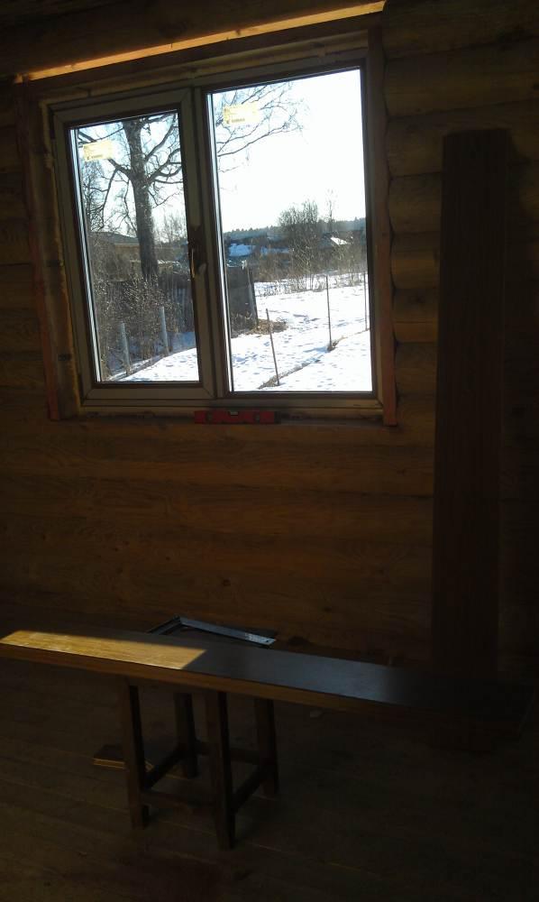 остекление деревянного дома в балашихе