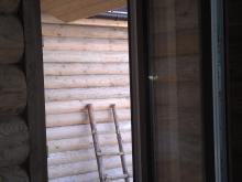 Дверь пвх с отделкой под дерево