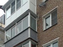 Наружная отделка балкона в балашихе