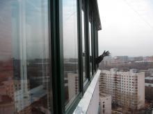 Раздвижное остекление балкона, Балашиха