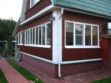 Замена старых окон в деревянном доме на пластиковые, Балашиха