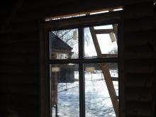 Остекление частного деревянного дома, Балашиха