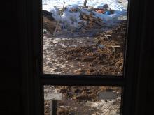 Большое ПВХ окно в деревянном доме, Балашиха