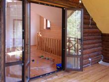 Распашная дверь из ПВХ, Балашиха