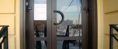 Входная пластиковая дверь, Балашиха