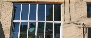 Замена старых пластиковых окон на новые в офисе, Балашиха